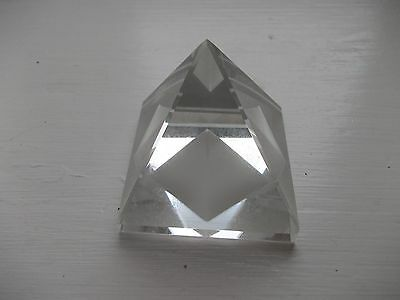 Glass (not Crystal) Pyramid • 4.99£
