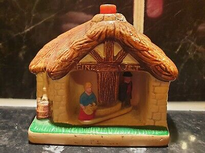 Vintage Manor Ware Pottery Weather House/cottage • 6£