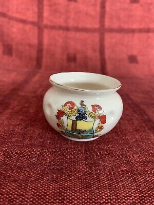Arcadian Crested China, Norton Fitzwarren, Model Of Bowl From The Ancient Britis • 3.50£