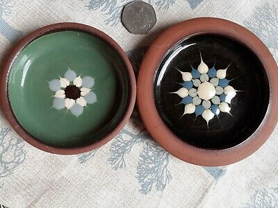 Two Tenby Pottery  Glazed Earthenware Small Dishes • 2.99£