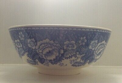 Masons Crabtree And Evelyn Blue And White Large Bowl • 3.20£
