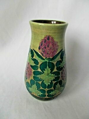 Rare Sally Tuffin Designed Dennis China Trial Clover Vase Dated 2000 • 49.99£