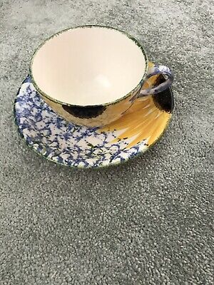 Poole Pottery Tea Cup And Saucer • 7£