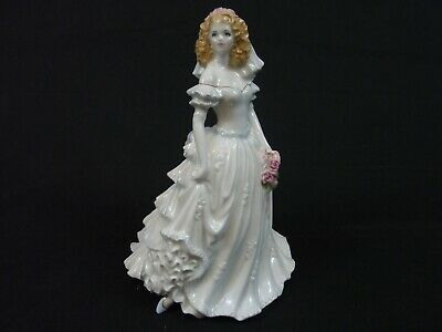 Royal Worcester Figure Wedding Day Nice Gift Engagement • 45£