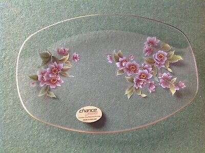 Chance Floral Glass Tray By Pilkington  • 2.50£