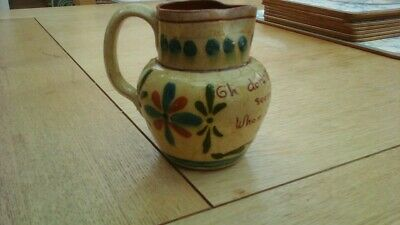ANTIQUE TORQUAYWARE MILK JUG From ALLER VALE POTTERY • 3.75£