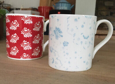 China Mugs Cabbages And Roses • 12£