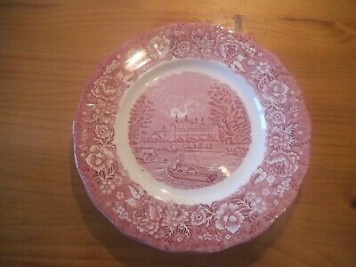 Palissy Pottery, Thames River Scenes - Eton College Plate • 10£