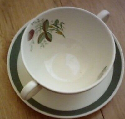 Crown Ducal Meadow Bowl And Saucer • 13.84£