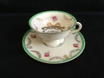 Victoria Ware Cabinet Cup And Saucer. VGC • 5.99£