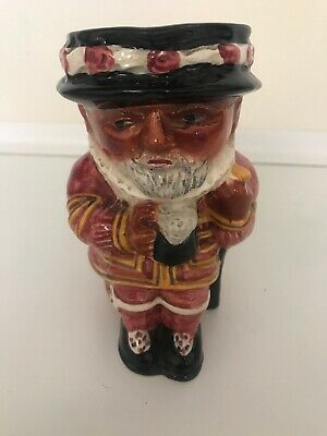Staffordshire Beefeater Toby Jug Shorter And Sons • 14£