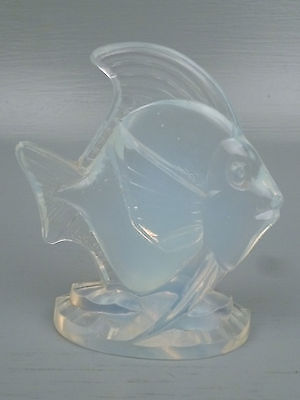 Sabino Opalescent Art Glass Deco Fish Figurine #1- French Crystal Poissons GL • 141.75£