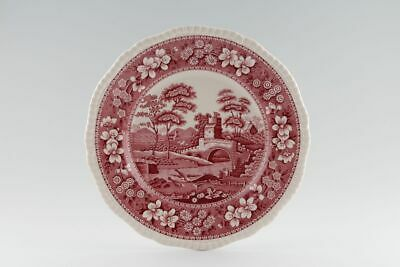 Spode - Tower - Pink - Later Backstamp - Breakfast / Salad Plate - 131795G • 15£