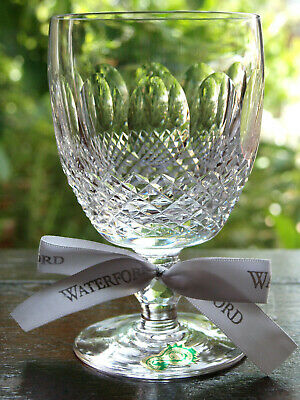 Waterford Crystal Colleen Goblet Glass Vintage Mint Made In Ireland • 55£