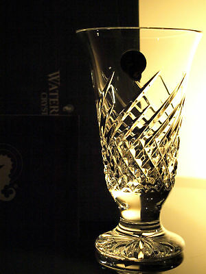 Waterford Crystal Wave Vase Brand New In Box Made In Ireland • 49£