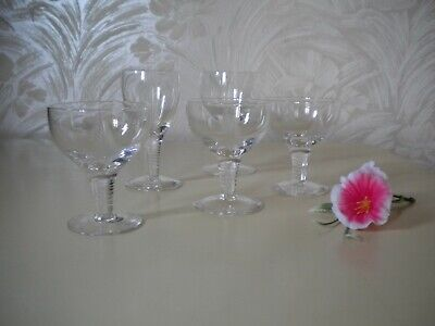 Five Assorted Stuart Crystal 'Woodchester' Glasses • 9.99£