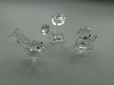 Crystal Glass Animal Ornaments • 8.25£