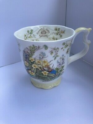 Brambly Hedge Royal Doulton Cup Spring Beaker Mug 1983 • 9.99£