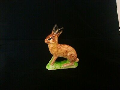 A 19th Century Small Staffordshire Figure Of A Hare , Hollow Base . • 85£