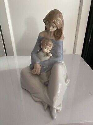 💙absolutely Stunning! A Large Nao By Lladro Figurine 'the Greatest Bond' • 30£