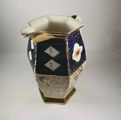 A Hexagonal Jug, In The Imari Style Of Decoration • 30£