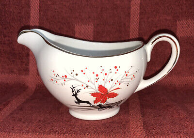 Vintage Alfred Meakin Leaping Stag Sauce Boat • 3.70£