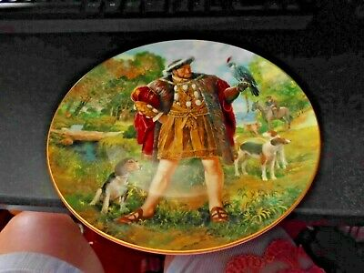 Royal Doulton King Henry V111 Collector  Plate 1995 Unboxed Excellent Condition  • 6.50£