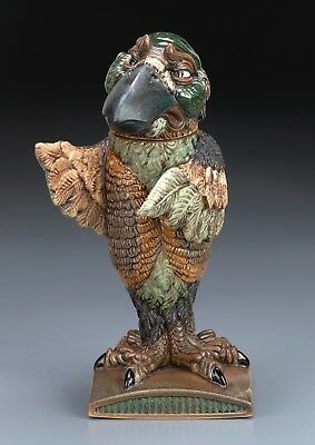 Burslem Pottery Grotesque Bird Defender Stoneware Inspired By Martin Brothers • 269£