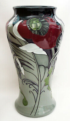 MOORCROFT CLONDERWOOD VASE 10.25in EMMA BOSSONS LIMITED EDITION • 225£