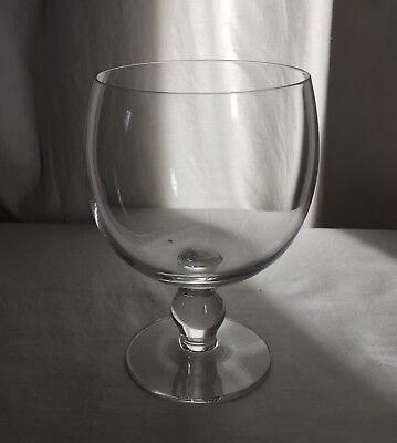 Brodegaard,  Stockholm  Swedish Crystal Iced Drink/beer Goblet, Ball In Stem. • 8.97£