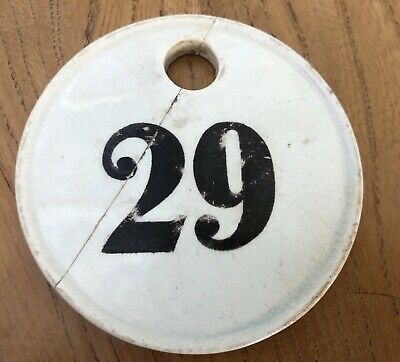 Victorian Minton Wine Bin Label '29' Impressed Marks And Dated 1865 • 26.95£