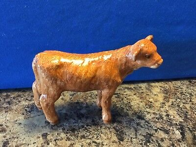 Border Fine Arts Highland Calf, In Excellent Condition. No 5236. • 50£