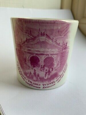 Antique Thames Tunnel Opening 1843 Small Pottery Mug  • 199.99£