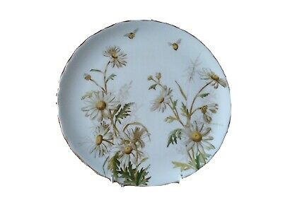 Antique George Jones Plate Daisy's & Bees Rd. No.826 • 20£