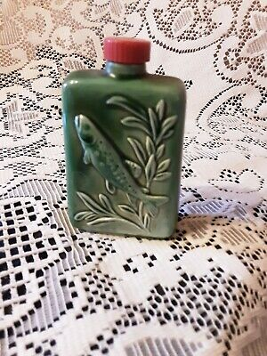 Beswick Rare  Sportsman Trout  Flask For Beneagls Whisky. • 22£