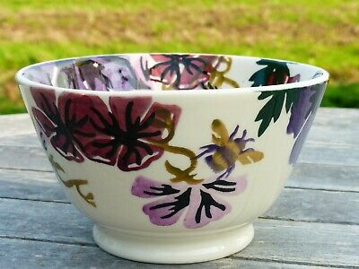 EMMA BRIDGEWATER EXCLUSIVE For LIBERTY LONDON *HOLLYHOCK* SMALL OLD BOWL NEW • 45£