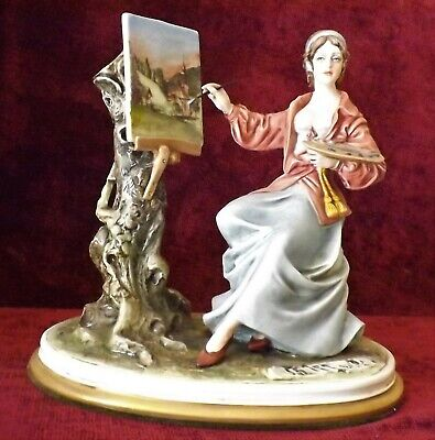 Capodimonte    The Painter    Figurine - Signed By B Merli. • 42.99£