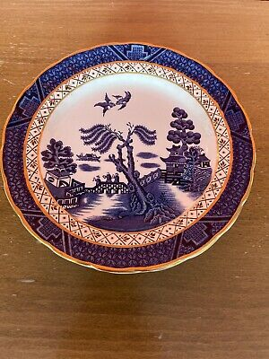 Vintage Booths Real Old Willow A8025 6.75  Side Plates X 6 (Good Condition) • 14.99£