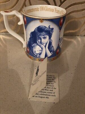 Past Times Commemorative Mug - Queen Mothers 100th Year • 9.99£