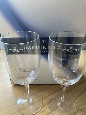 Dartington Crystal Port Glasses • 9.20£