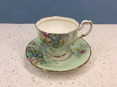 Very Pretty Paragon Demitasse Violetta  Cup And Saucer • 9.99£
