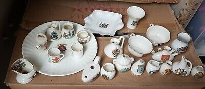 Job Lot/bundle/collection Of 23 Crested Ware/crested China • 29.99£
