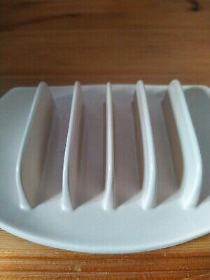 Branksome China Pottery Toast Rack • 12.50£