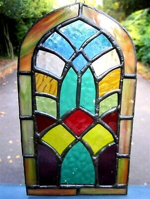 Stained Glass Church Cathedral Window Handmade Suncatcher Window Decoration Gift • 45£