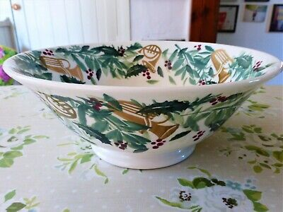 Emma Bridgewater *bring In The Green* Large Serving Bowl - New, 2nd • 45£
