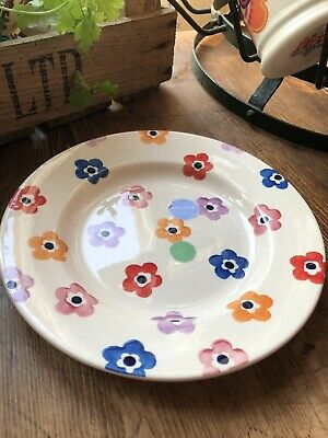 Emma Bridgewater Bright Flowers 8.5 Plate SIGNED BY Emma Bridgewater ARCHIVE • 16£