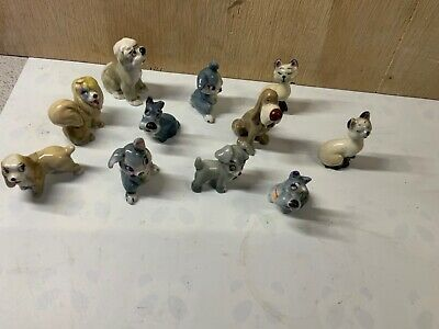 11 DISNEY DOGS CATS (Wade Whimsies ????? ) • 15£