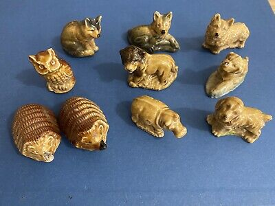 Collection Of 10 Wade Whimsies • 4£