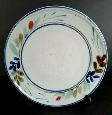 Highland Stoneware Hand-painted Plates (2 Available) -  22 Cm Diameter • 11£