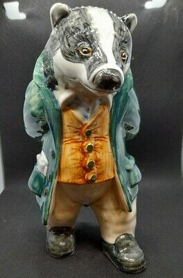 RYE CINQUE PORTS POTTERY Country Gentleman Figure - Lord William Badger • 95£